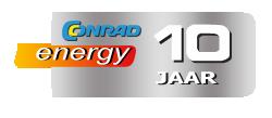 Conrad Energy 10 jaar logo